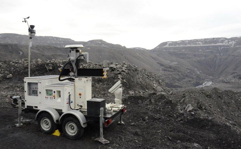 «Кузбассразрезуголь» ввел в эксплуатацию георадар для контроля устойчивости откосов и отвалов