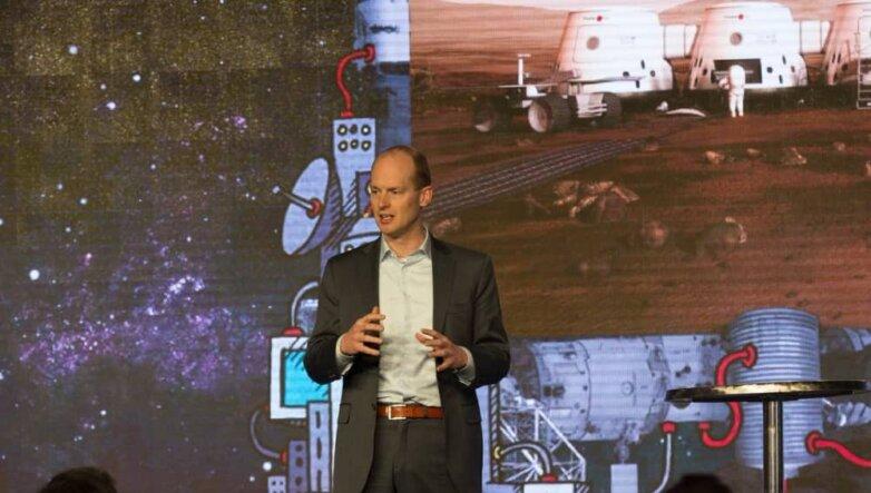 Бас Ландсдорп, основатель компании Mars One