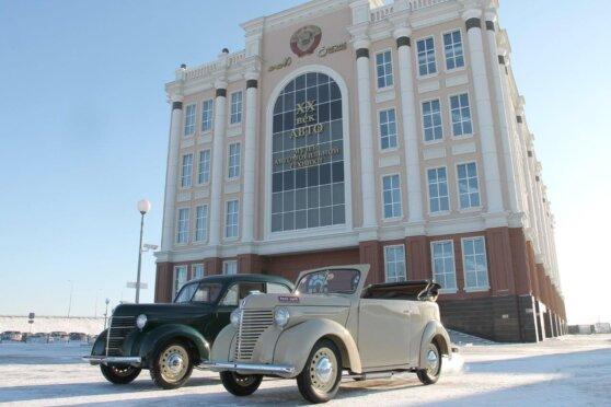Уникальный «коммунистический» автомобиль появился в музее УГМК