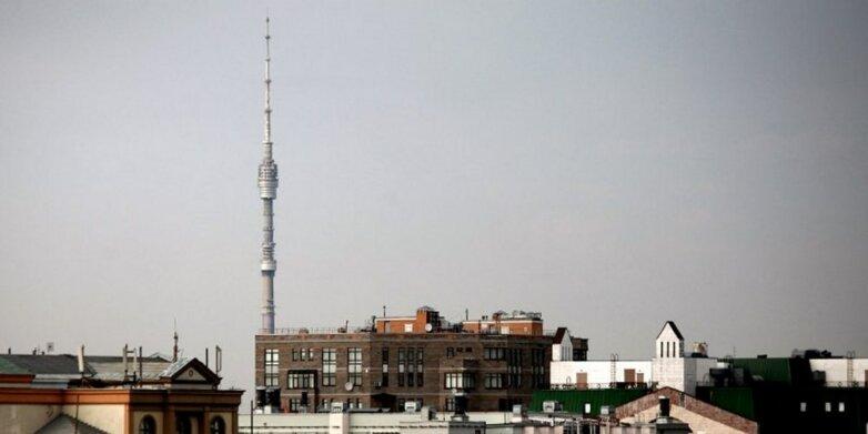 Останкинская башня, телевышка