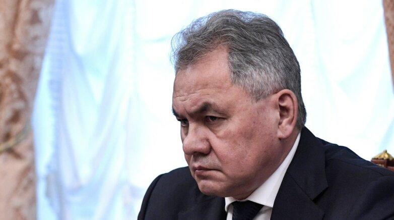 Сергей Шойгу министр обороны Российской Федерации