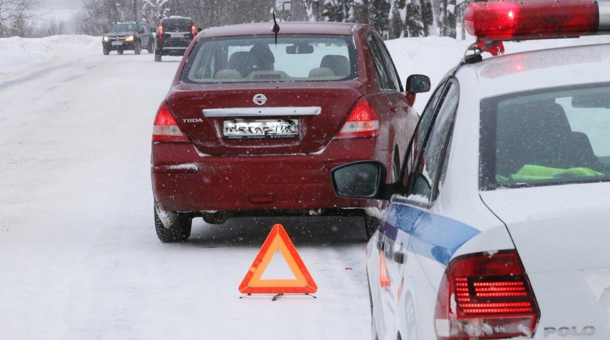 ДТП, авария, ГИБДД, полиция, зима, снег