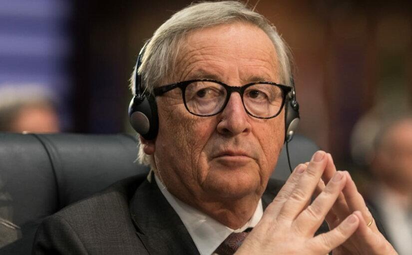 Глава Еврокомиссии прервал свое выступление из-за звонка жены