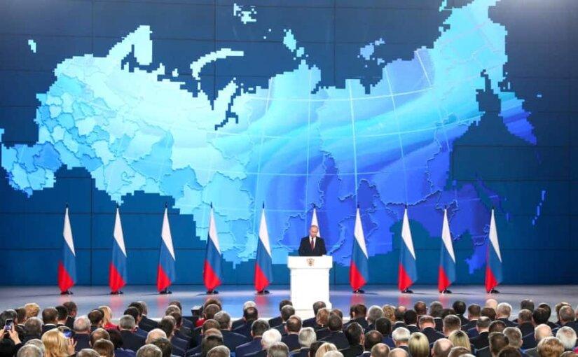 Главное из выступления Владимира Путина перед Федеральным Собранием