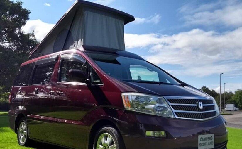 Campers Scotland представила автомобиль для путешествий