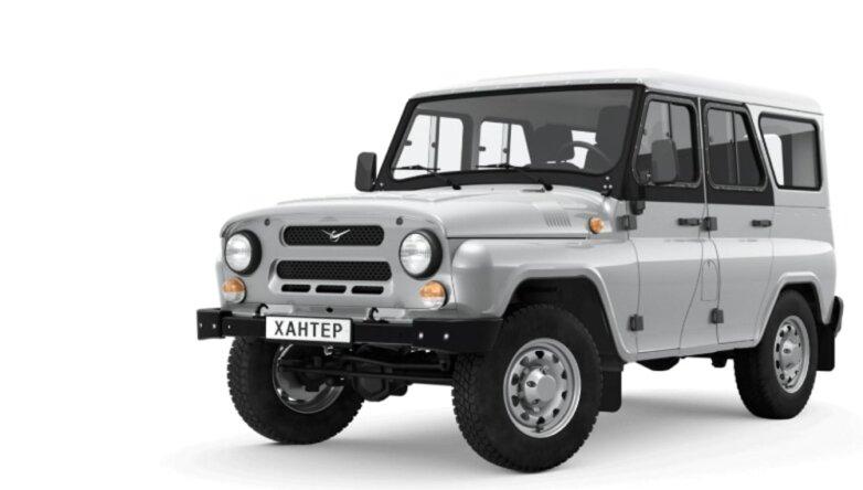 УАЗ 2924 «Хантер», машина, автомобиль