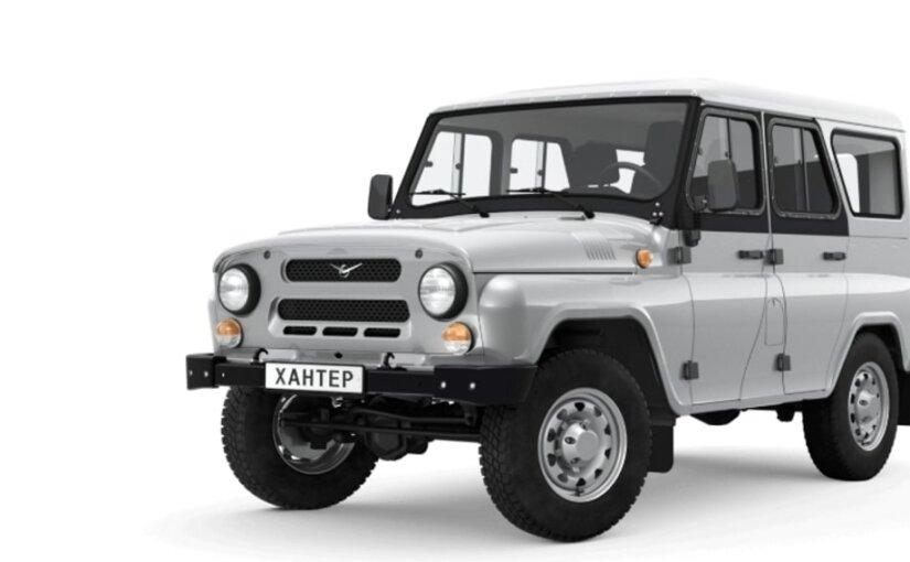УАЗ решил сделать свой внедорожник «Хантер» грузовиком