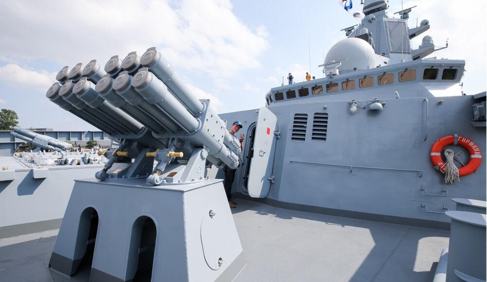 Новые российские фрегаты будут нести на борту до 48 ракет «Калибр»