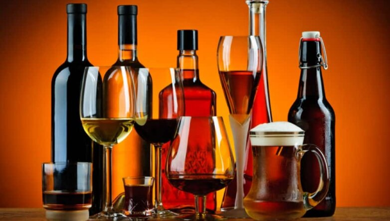 alcohol Алкоголь