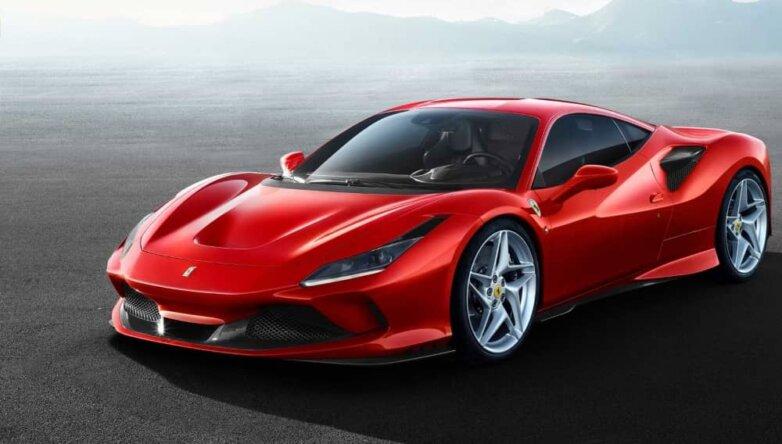 Ferrari F8 Tributo, машина, автомобиль