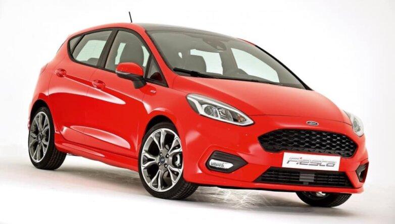 Ford Fiesta SUV, машина, автомобиль