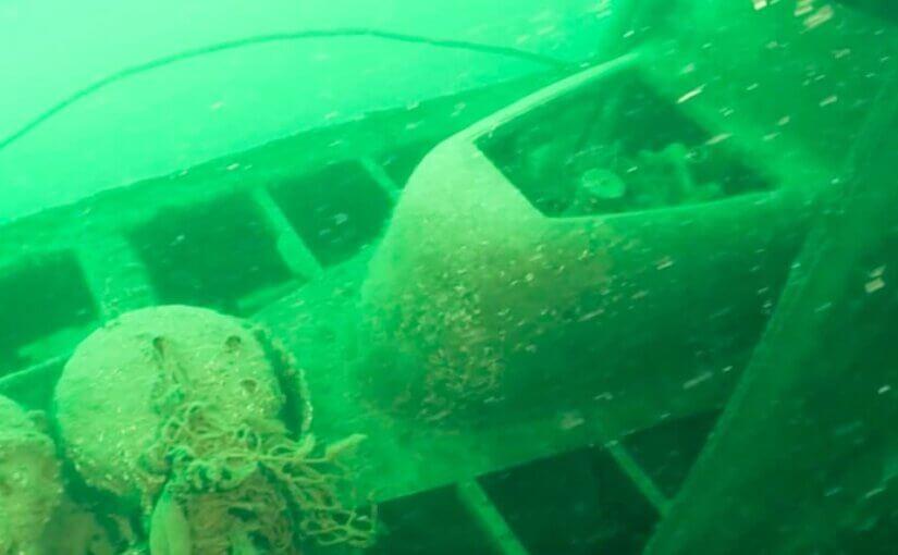 Турецкий дайвер нашел «потерянный флот Гитлера»