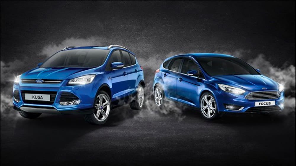 Ford Kuga и Ford Focus