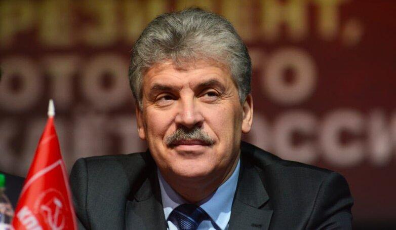 Гендиректор совхоза им. Ленина Павел Грудинин
