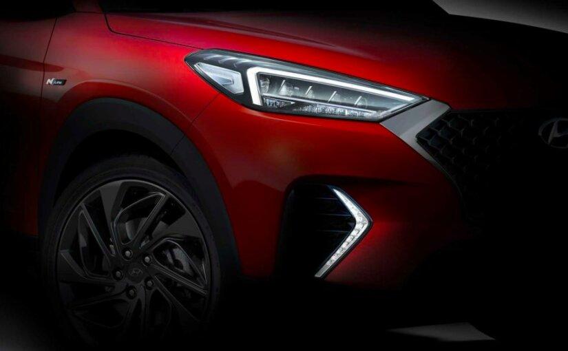 Hyundai анонсировала обновленную версию внедорожника Tucson