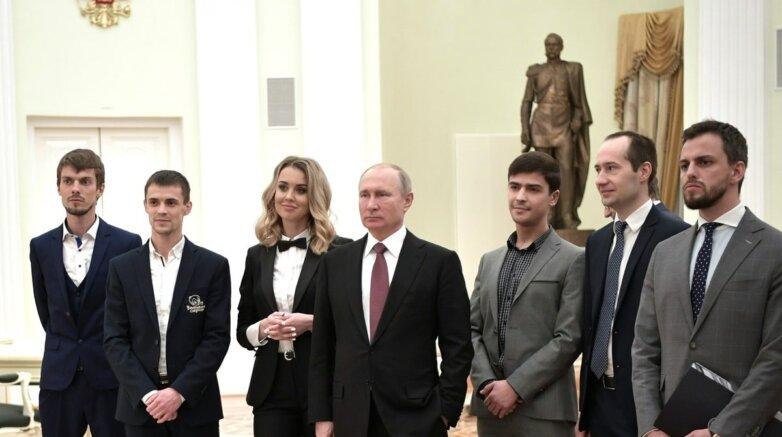 Встреча Владимира Путина с победителями конкурса «Немалый бизнес»