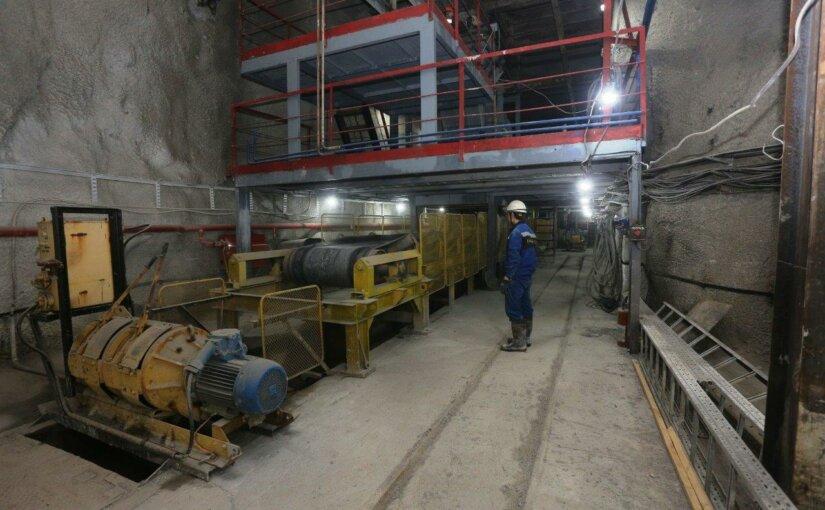Гайский ГОК ввел в эксплуатацию загрузочный комплекс на глубине 1260 метров