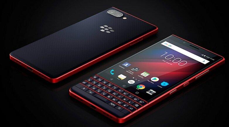 BlackBerry KEY2 LE Atomic Red