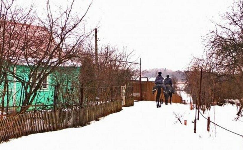 Кавалеристы во Владимире поймали наркоторговцев с поличным