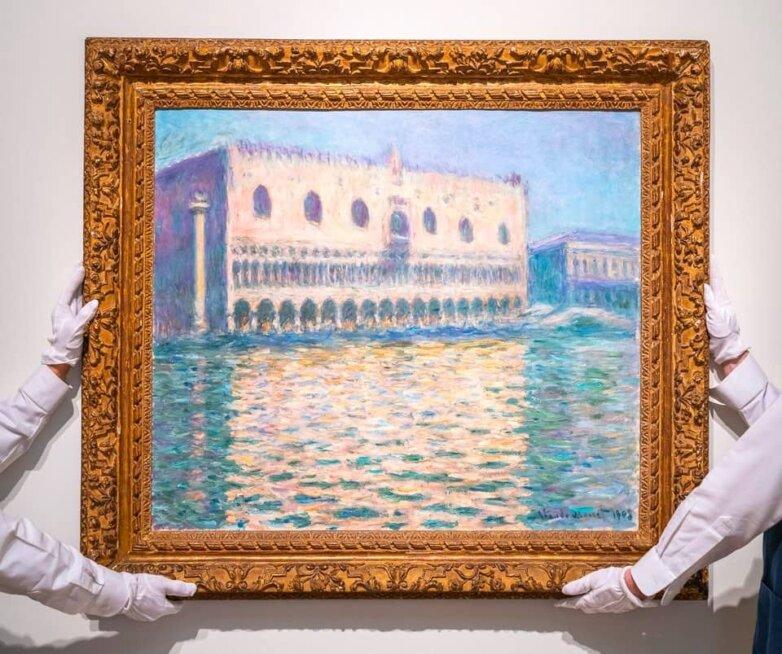 Картина Клода Моне «Дворец дожей»
