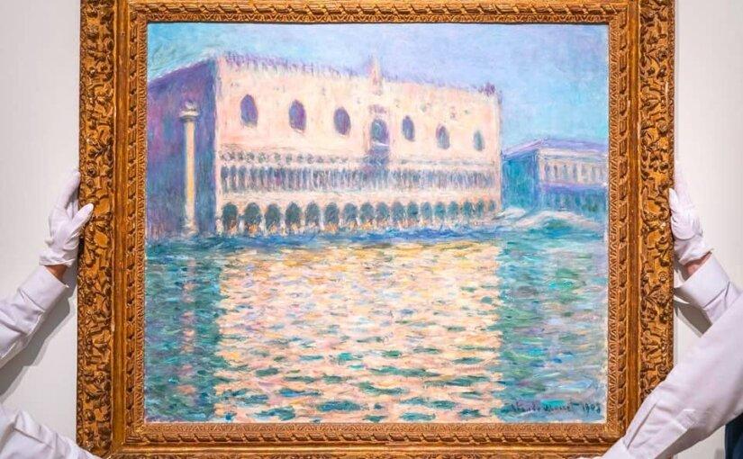 Картина Моне «Дворец дожей» продана на торгах в Лондоне за €32 млн