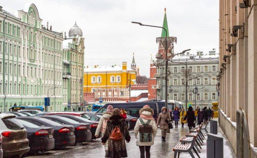 В Москве продолжается оттепель