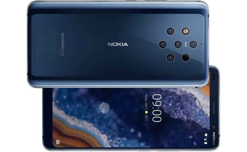 Nokia показала свой первый смартфон с шестью камерами