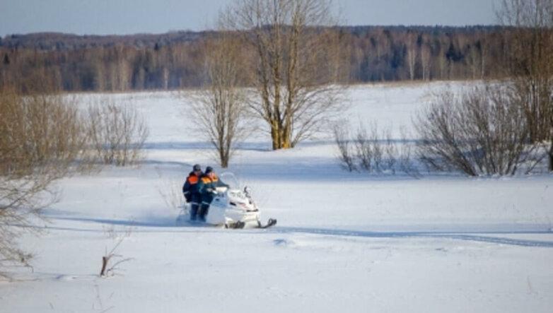 Снегоход, МЧС, снег, зима