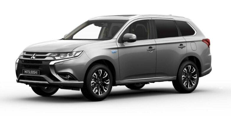 Mitsubishi Outlander PHEV Commercial, машина, автомобиль