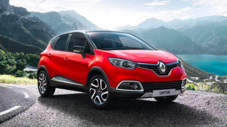 Обновленный Renault Captur