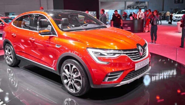 Renault Arkana, машина, автомобиль