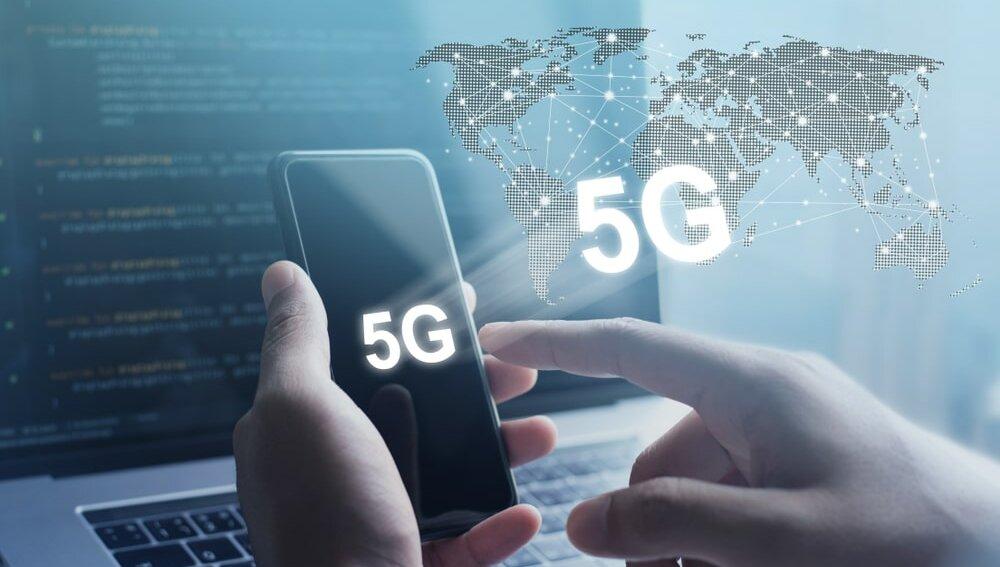 5G интернет сеть карта