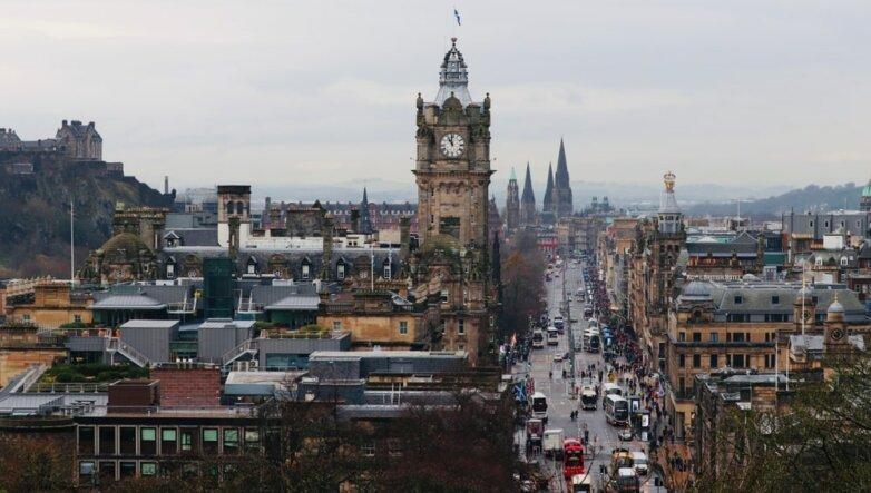 Столица Шотландии Эдинбург