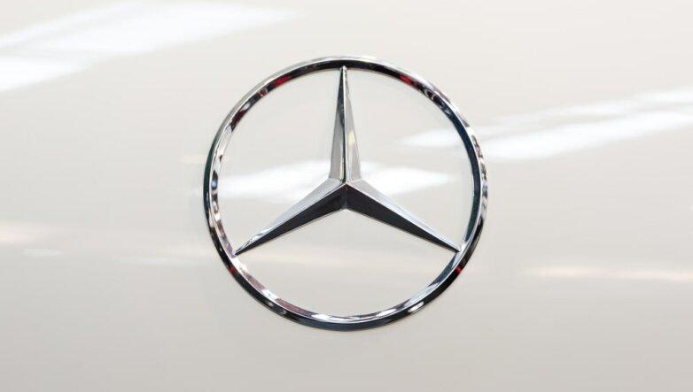 Mercedes-Benz, логотип, машина, автомобиль