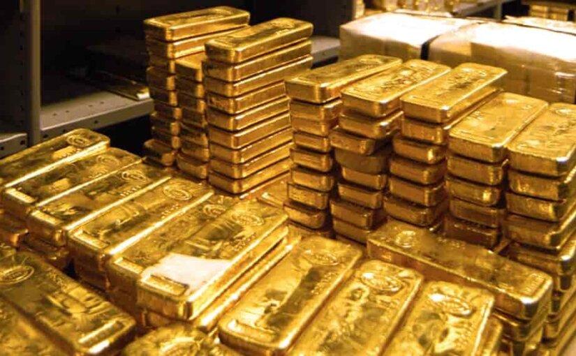 Золотовалютные резервы РФ побили пятилетний рекорд