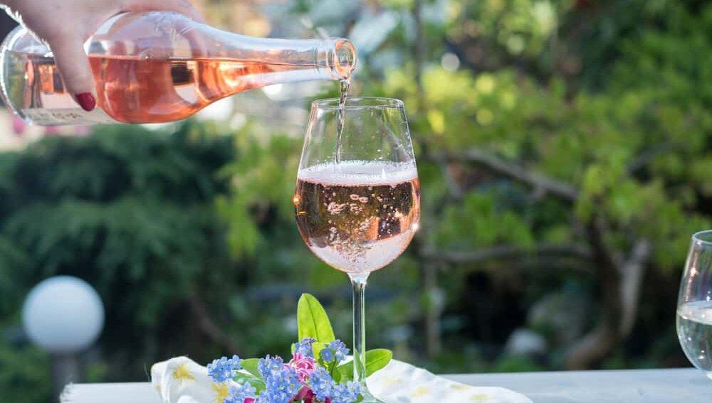 Розовое вино, алкоголь