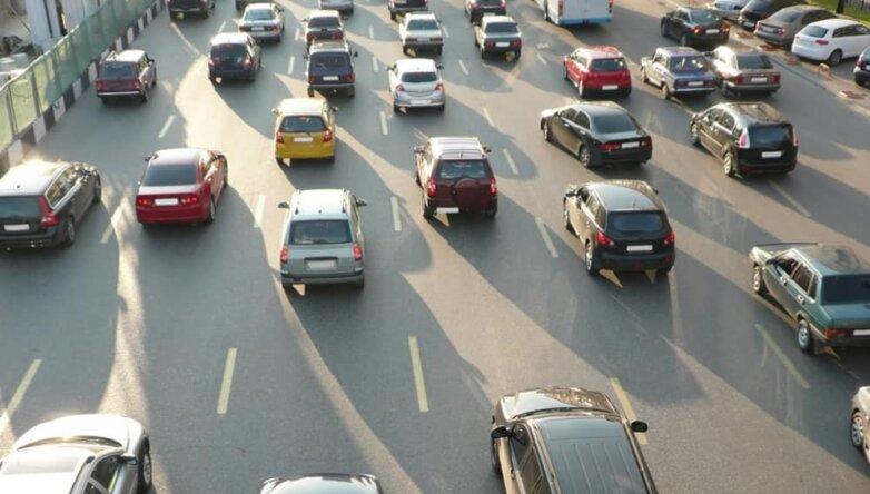 Дорога, машины, автомобили