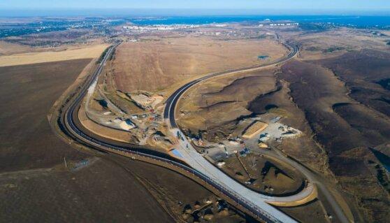 Трассу «Таврида» в Крыму построили более чем наполовину