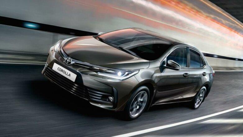 Новая Toyota Corolla, машина, автомобиль