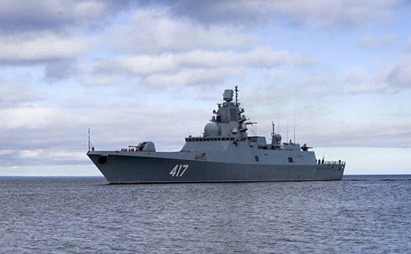 Новые ЗРК для фрегатов готовы к использованию на флоте России