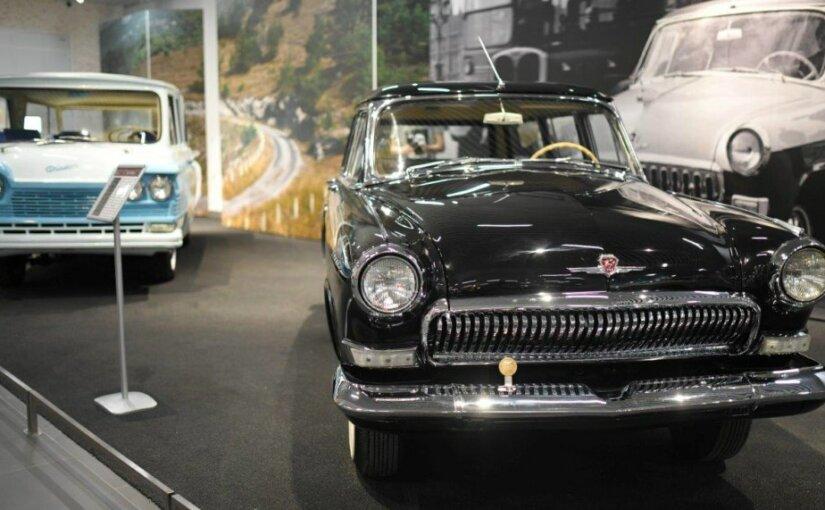 В музее УГМК появилась легенда советского автопрома – ГАЗ-22