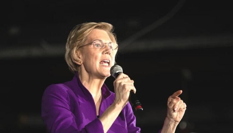 Сенатор-демократ от штата Массачусетс Элизабет Уоррен