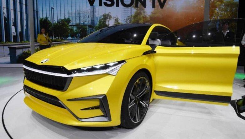 Skoda Vision iV, машина, автомобиль