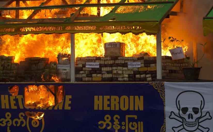 Мьянма производит метамфетамин в таком количестве, что может накрыть нарковолной весь мир