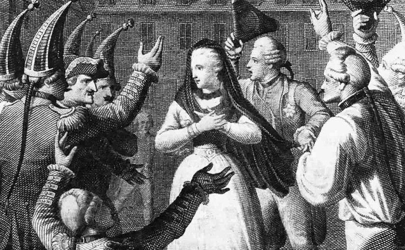 Неженская хватка Великой Екатерины