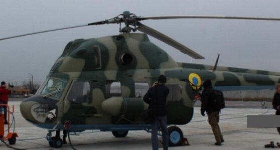 Вертолет Ми-2, переданный ВСУ в подарок накануне выборов, разбился при посадке
