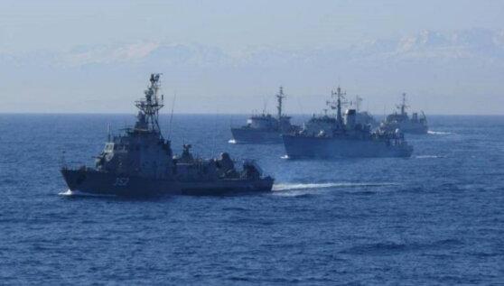 Шесть кораблей НАТО вошли в польскую Гдыню