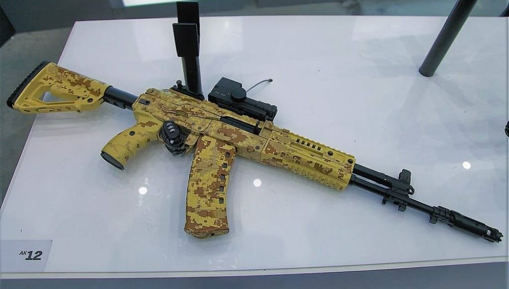 Специалисты концерна «Калашников» показали «коронную фишку» нового АК-12