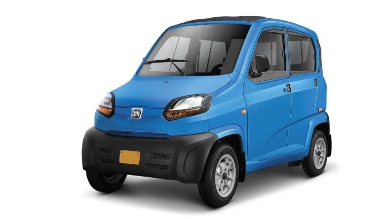 Bajaj Qute, машина, автомобиль