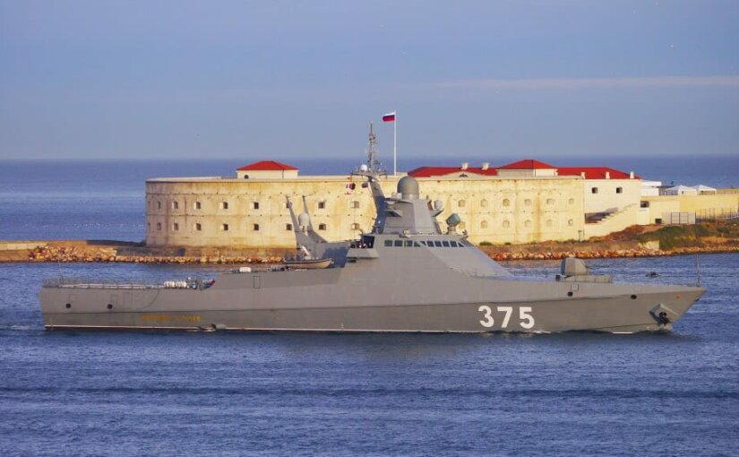 В апреле ВМФ России пополнится вторым противопиратским корветом